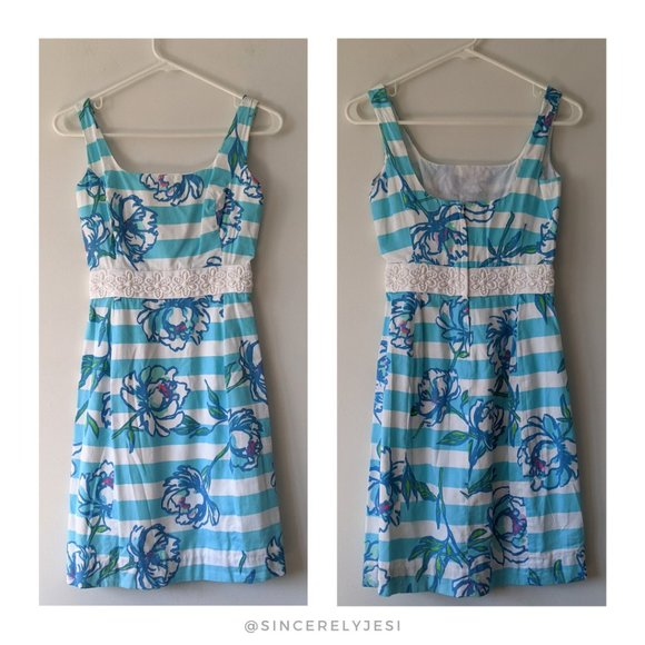 Lilly Pulitzer ▪ Tossing the Line Serena Dress